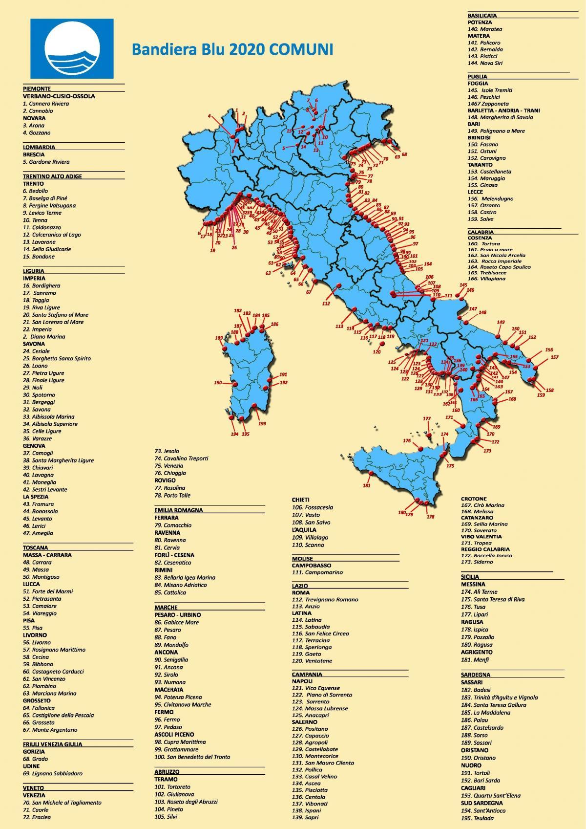 Cartina Spiagge Veneto.Italia Beach Mappa Migliori Spiagge In Italia Mappa Europa Del Sud Europa