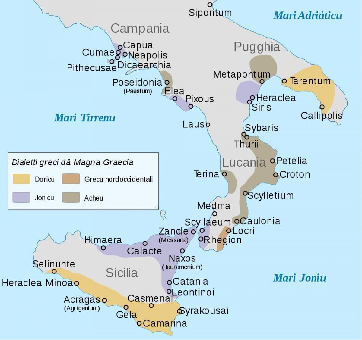 Cartina Sud Italia E Isole.Sud Italia Isole Sulla Mappa Mappa Dell Italia Meridionale E Nelle Isole Europa Del Sud Europa
